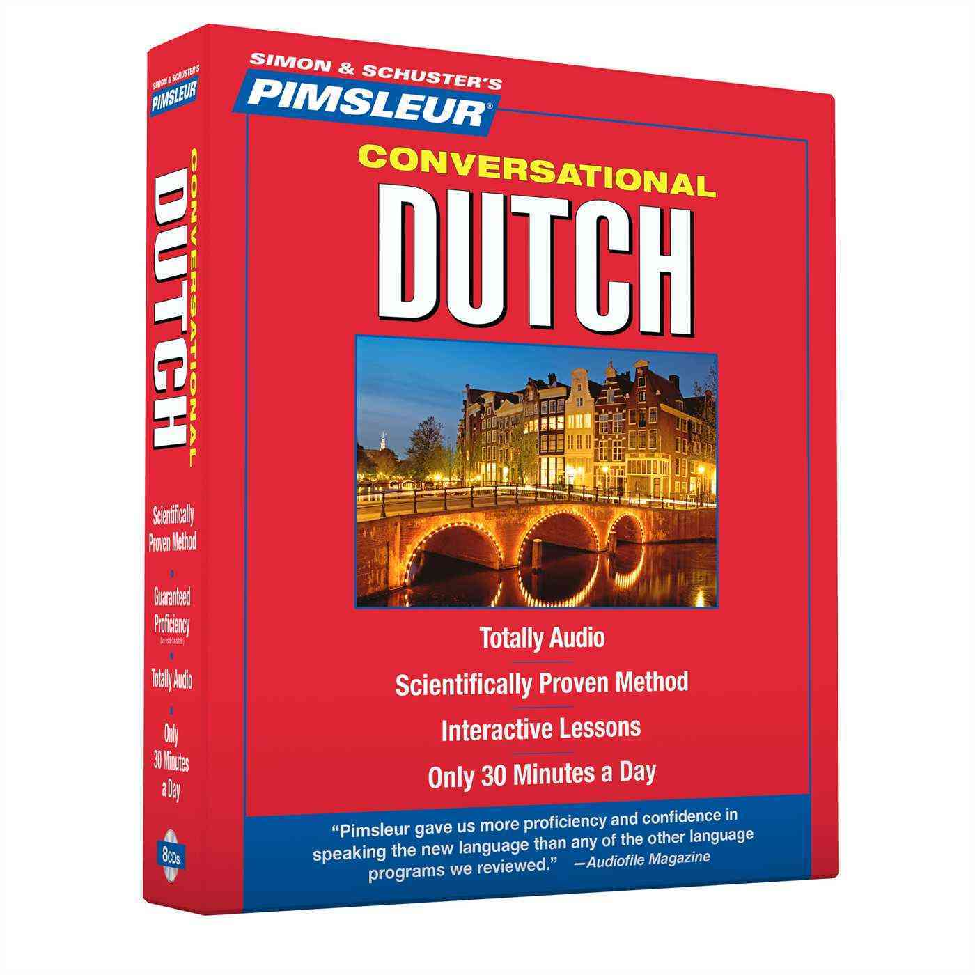 [CD] Pimsleur Conversational Dutch By Pimsleur Language Programs